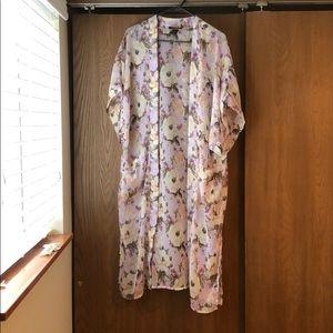 NWOT Steve Madden floral kimono